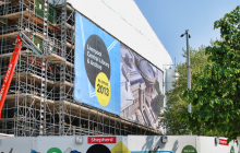 Building wrap banner